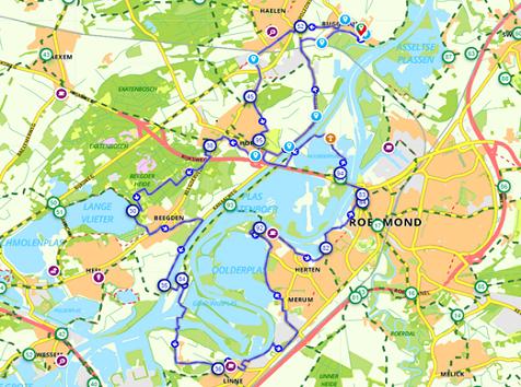 Maasplassen route